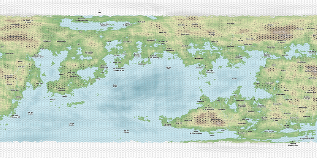 World of Avana, by Nolan-The-Dragconic
