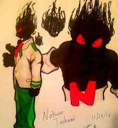 Nokuro Tashami (BNHA OC) by Nolan-The-Dragconic