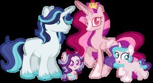 Crystal Empire Royal Family- Songverse