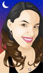 Evelyn Smile by leomacedo
