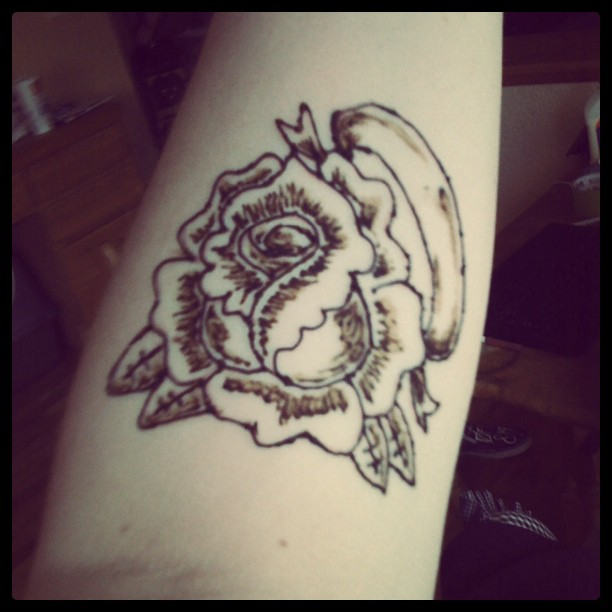 Henna Rose Tattoo By MonteyRoo On DeviantArt