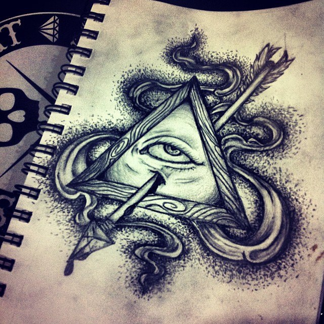 All Seeing Eye By MonteyRoo