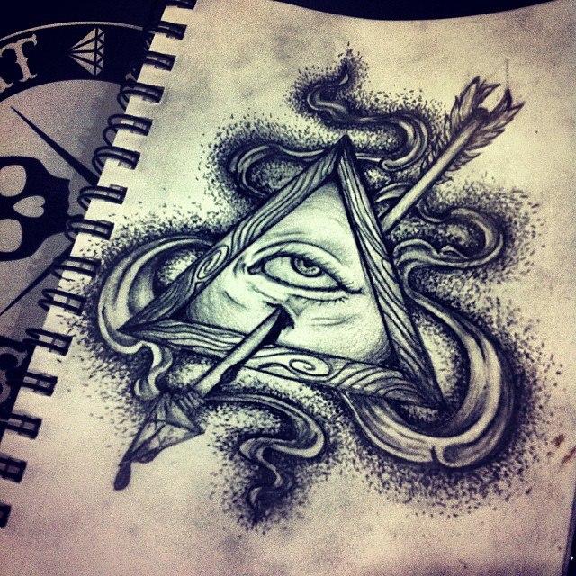 All Seeing Eye Tattoo Designs: All Seeing Eye By MonteyRoo On DeviantArt