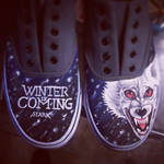 Game of Thrones shoes WIP