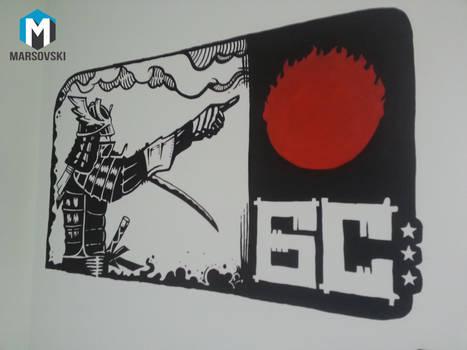 Wall paint - Beogradski Sindikat