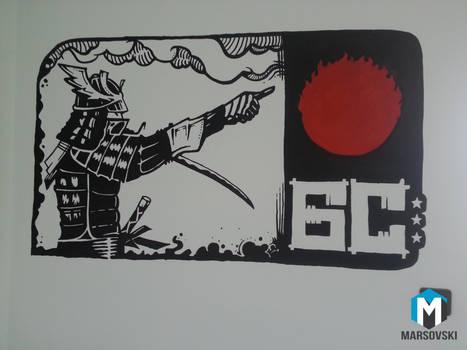 Wall paint - Beogradski Sindikat 2