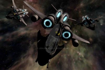 Attack Fighter by RedTreeInTheGreen