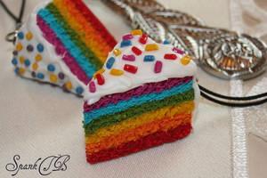 Rainbow Cake by SpankTB