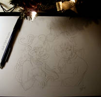 Reindeers by SpankTB