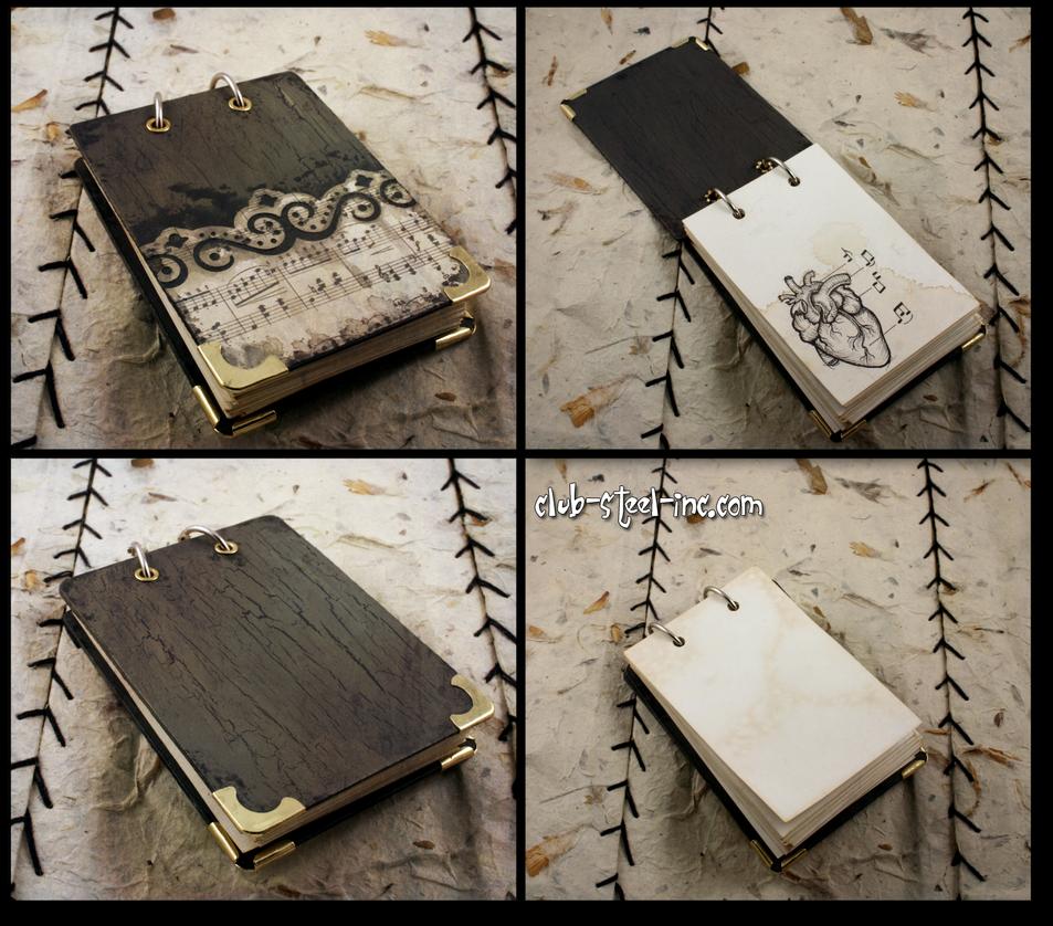 Shabby Notepad by SpankTB