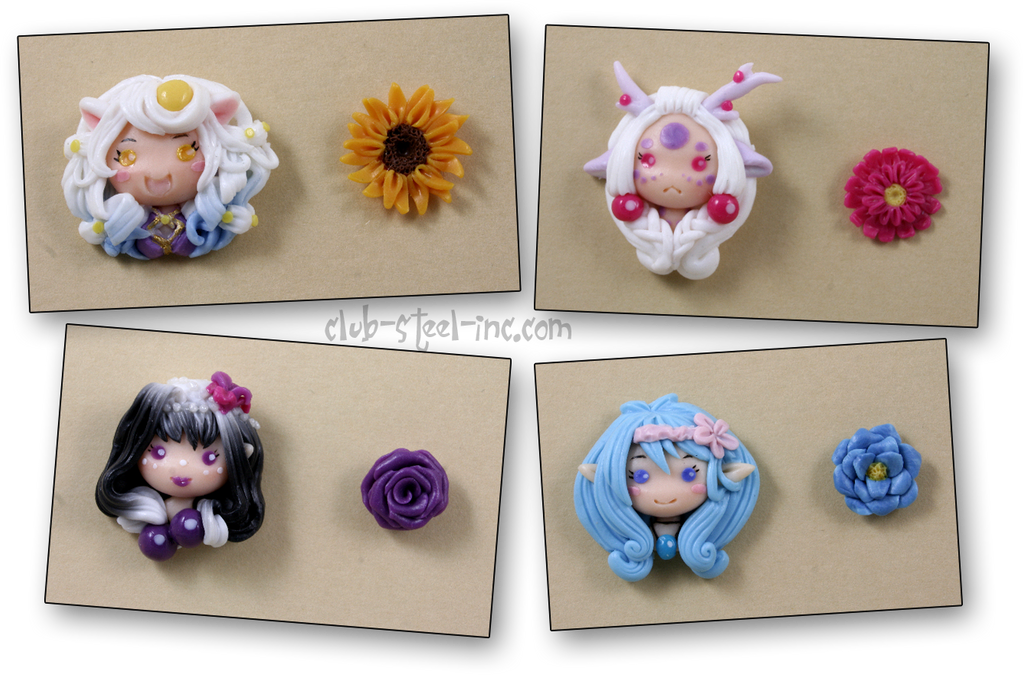 Chibi Earrings by SpankTB
