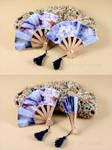 Chinese Fan Earrings