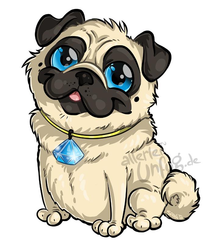 Pug Pug Pug by SpankTB