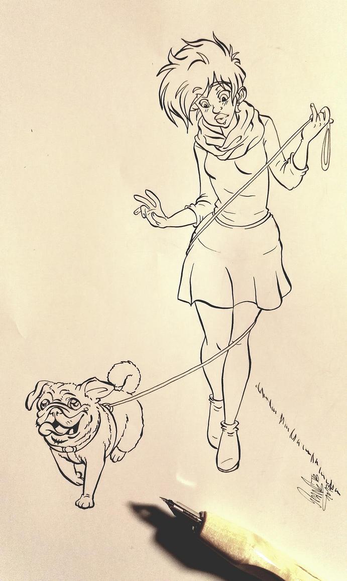 Elli and Gusti by SpankTB