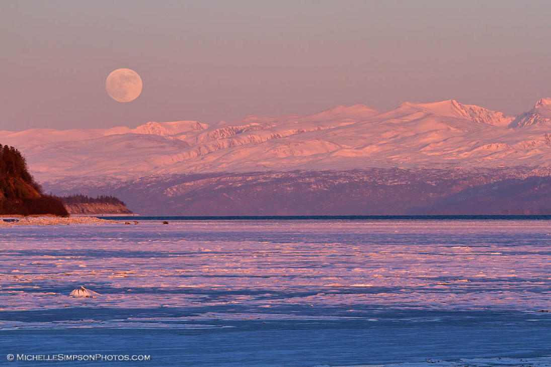 Super Blue Moon by MSimpsonPhotos