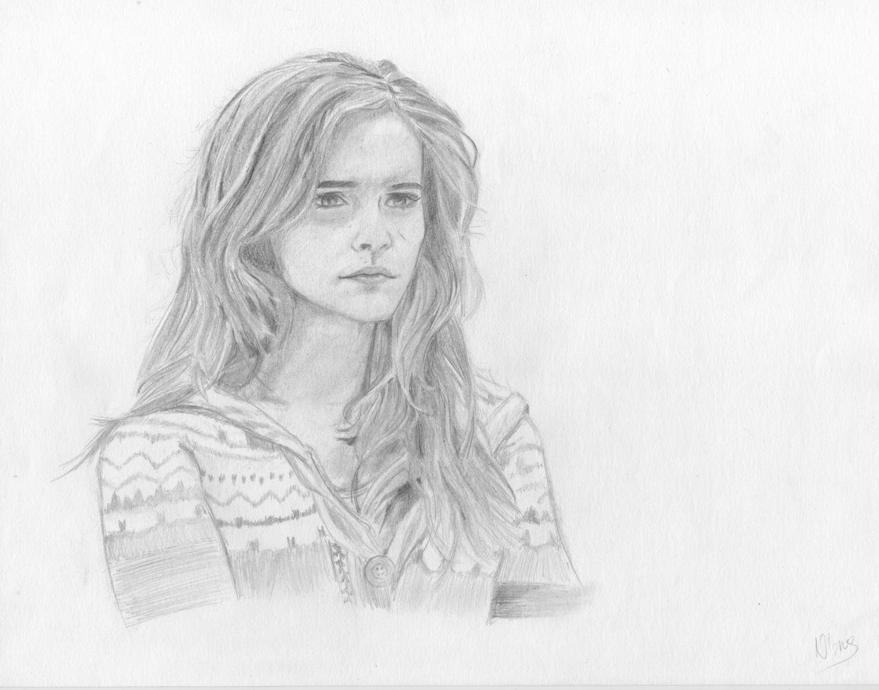 Hermione Granger Drawing Step by Step Hermione Granger Drawing Step