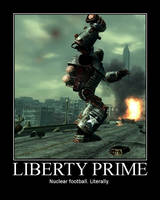 LIBERTY PRIME by ThunderBreak