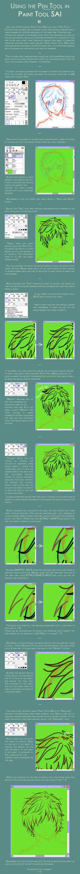 Tutorial - Paint Tool SAI by Salacia-Mao