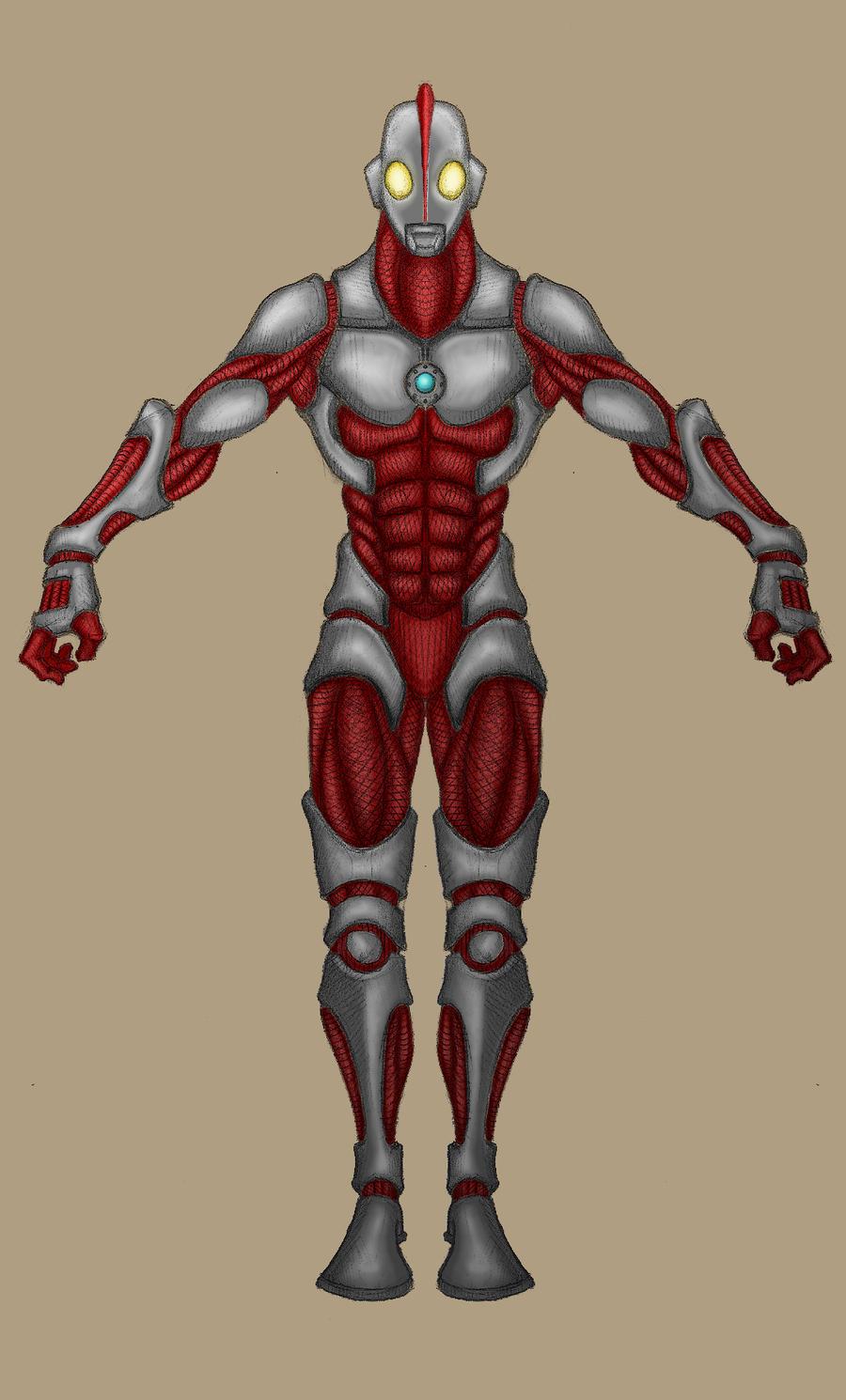 Ultraman by sentinel245 on deviantart
