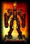 Megaman Redesign: Fire Man