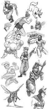 Doodles - Sketch Dump 1
