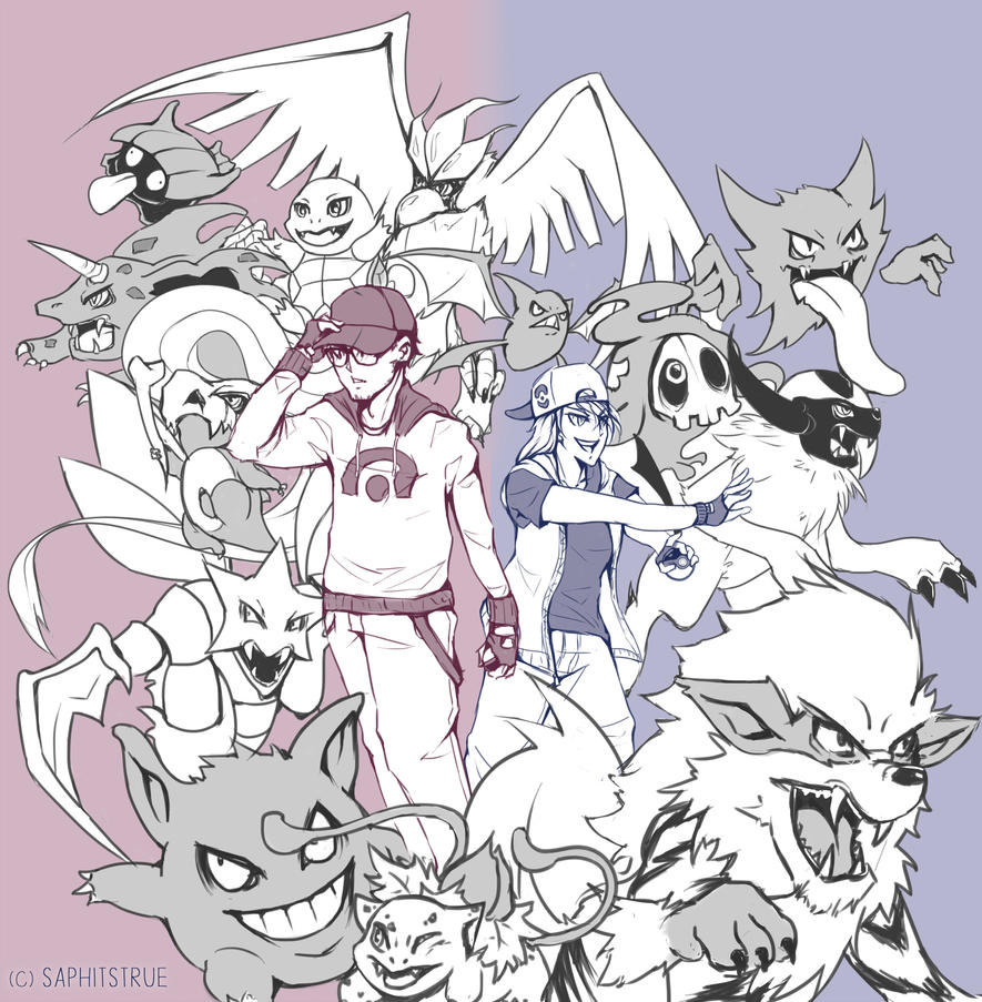 Team Pokemon by Saphitstrue