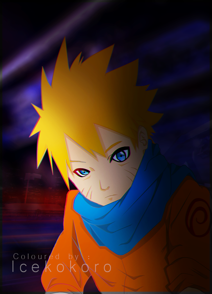 Naruto .. night city by RoroChii