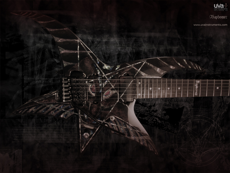 Baphomet Guitar By EsP LTd