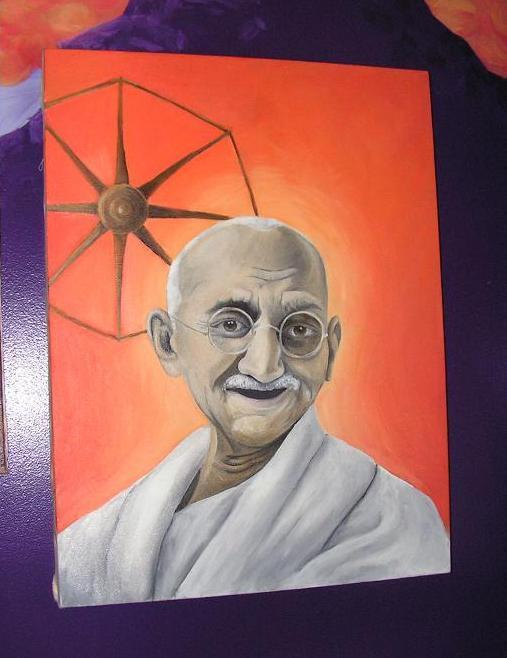 Gandhi by neveRegret