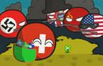 Polandball: Swiss Neutrality