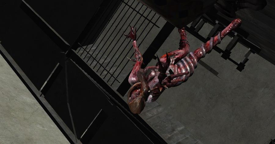 Resident Evil Revelations - Ooze Rachel by biohazardrocks1