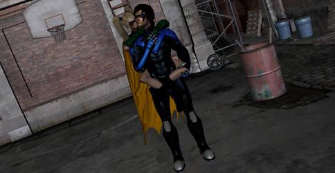 Nightwing's New Sidekick