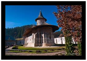 Voronet Monastery by liviugherman
