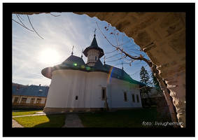 Sihastria Monastery by liviugherman