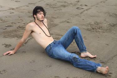 Beachin it hard