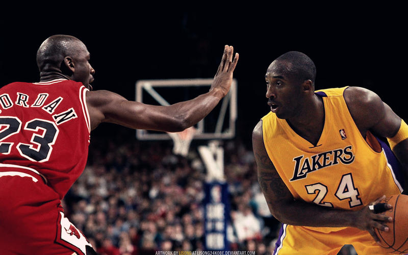 Kobe bryant vs michael jordan wallpaper by lisong24kobe on deviantart kobe bryant vs michael jordan wallpaper by lisong24kobe voltagebd Gallery