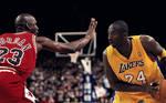 Kobe Bryant vs Michael Jordan Wallpaper