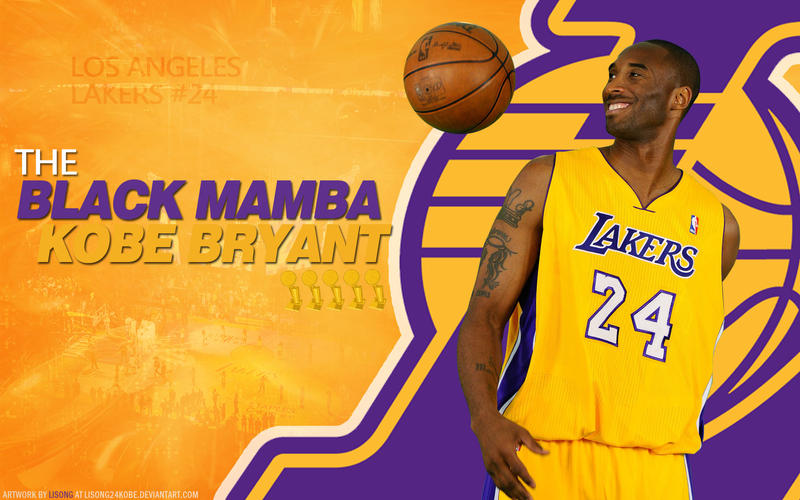 Kobe Bryant Purple And Gold Wallpaper By Lisong24kobe On