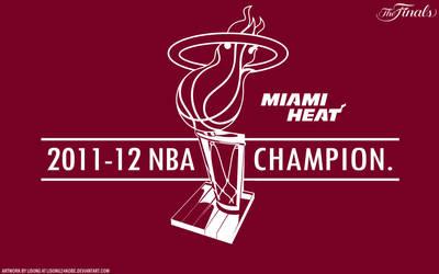 2012 NBA Champion Wallpaper