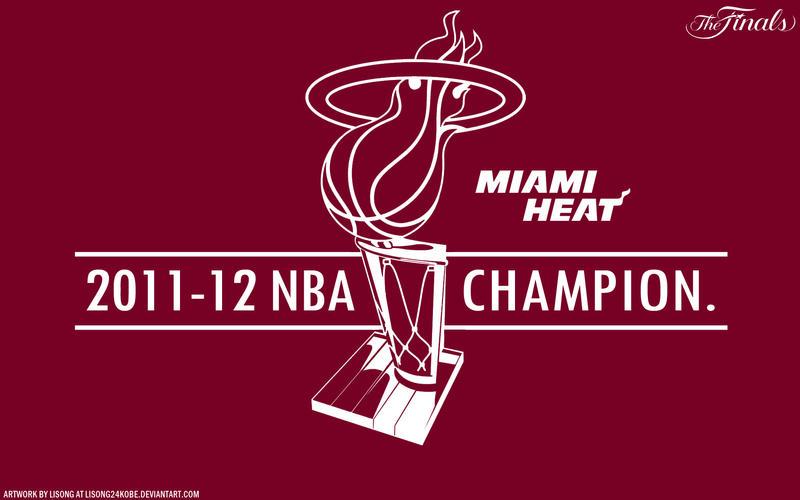 2012 NBA Champion Wallpaper by lisong24kobe