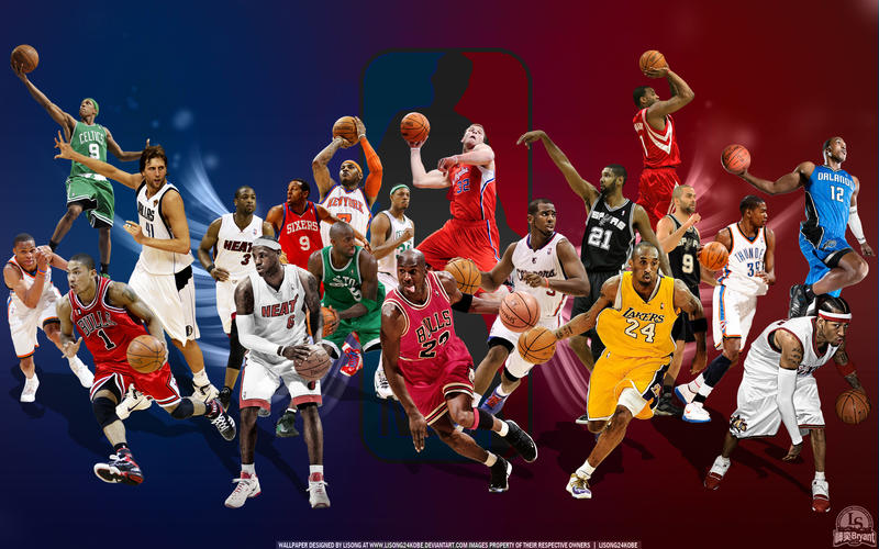 Nba all star wallpaper by lisong24kobe