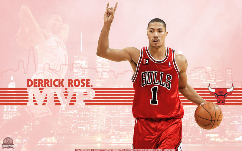 Derrick rose wallpaper by lisong24kobe on deviantart derrick rose wallpaper by lisong24kobe voltagebd Image collections