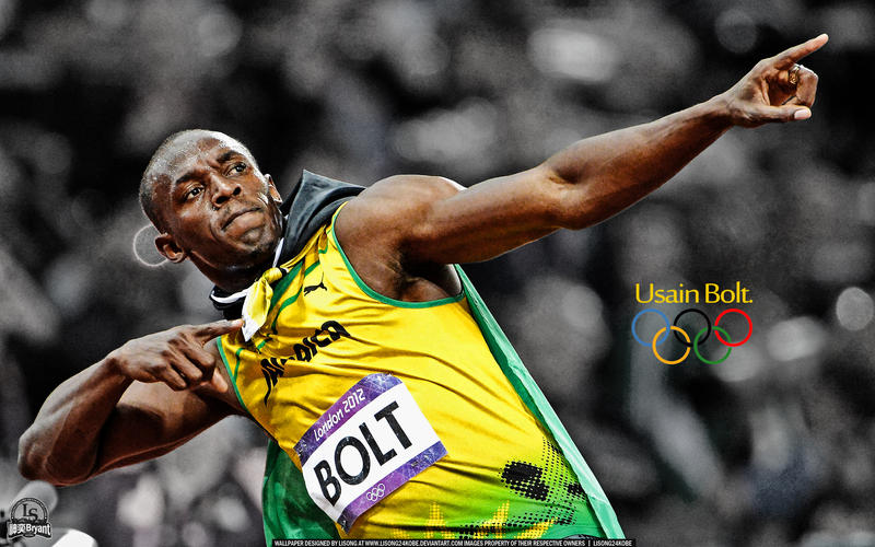 Usain Bolt 2012 London Olympics Wallpaper By Lisong24kobe