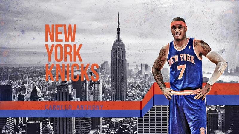 Carmelo Anthony Knicks Wallpaper by lisong24kobe on DeviantArt