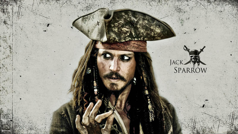 Jack Sparrow Wallpaper by lisong24kobe