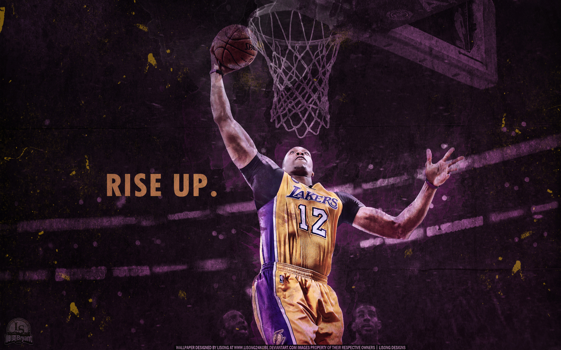 dwight howard 39 rise up 39 wallpaper by lisong24kobe on