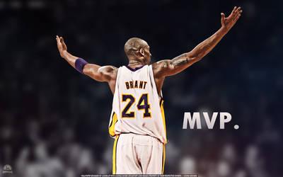 Kobe Bryant MVP Wallpaper by lisong24kobe