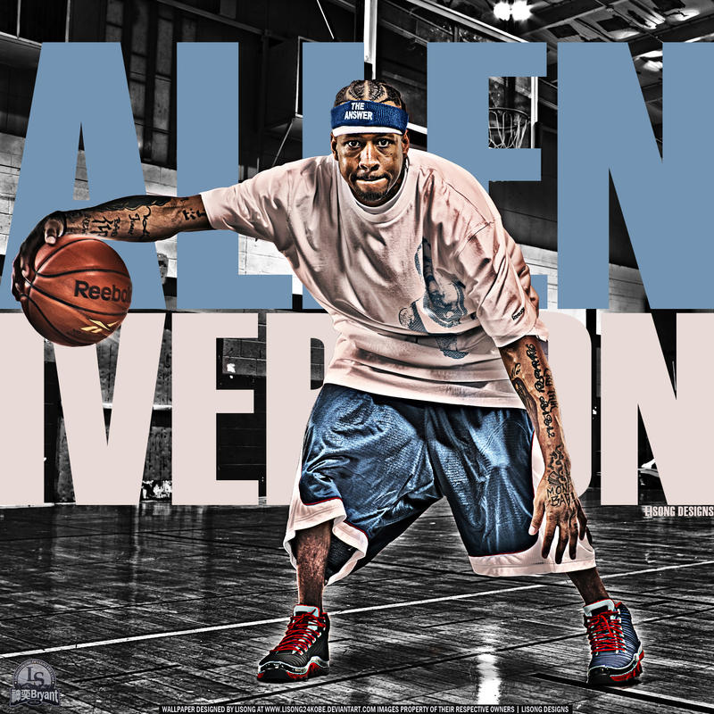 Stylistic86 5 33 Allen Iverson By Lisong24kobe