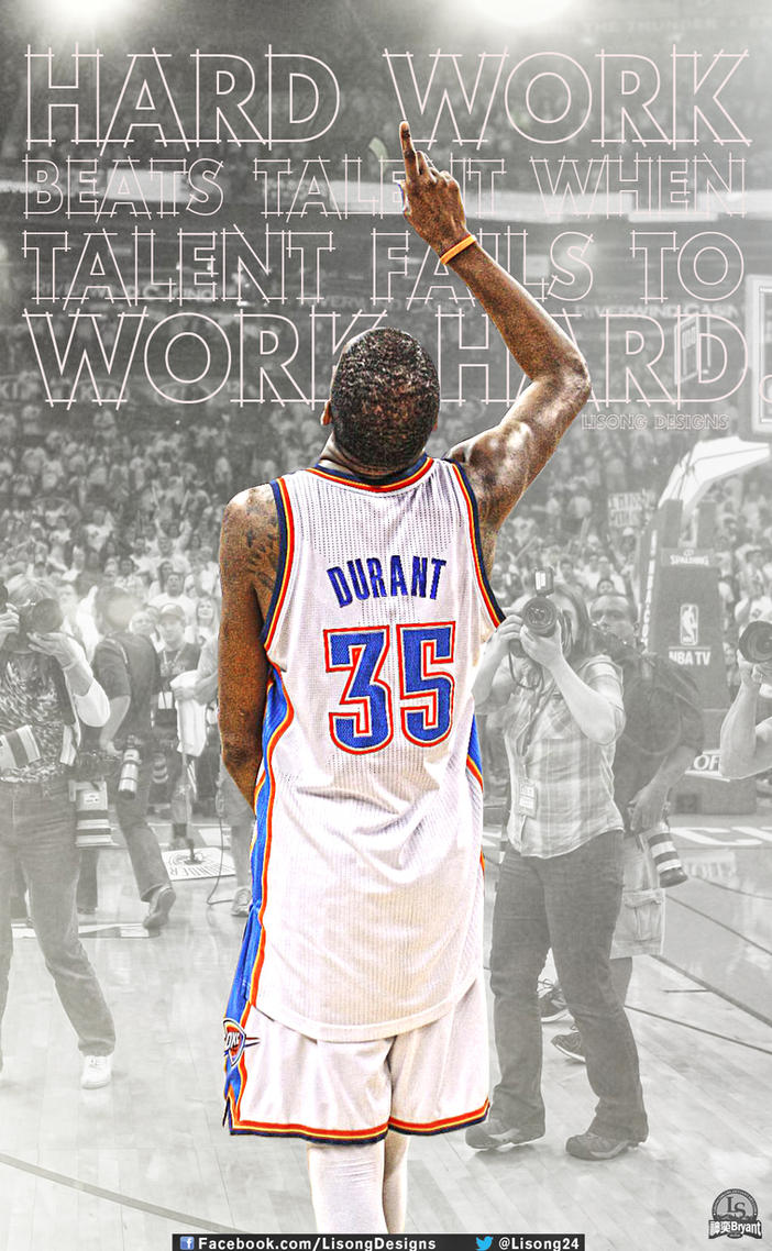Kevin Durant Quote Beauteous Kevin Durant Quotelisong24Kobe On Deviantart