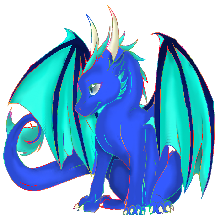 Cute Dragon By DaniiRoo On DeviantArt